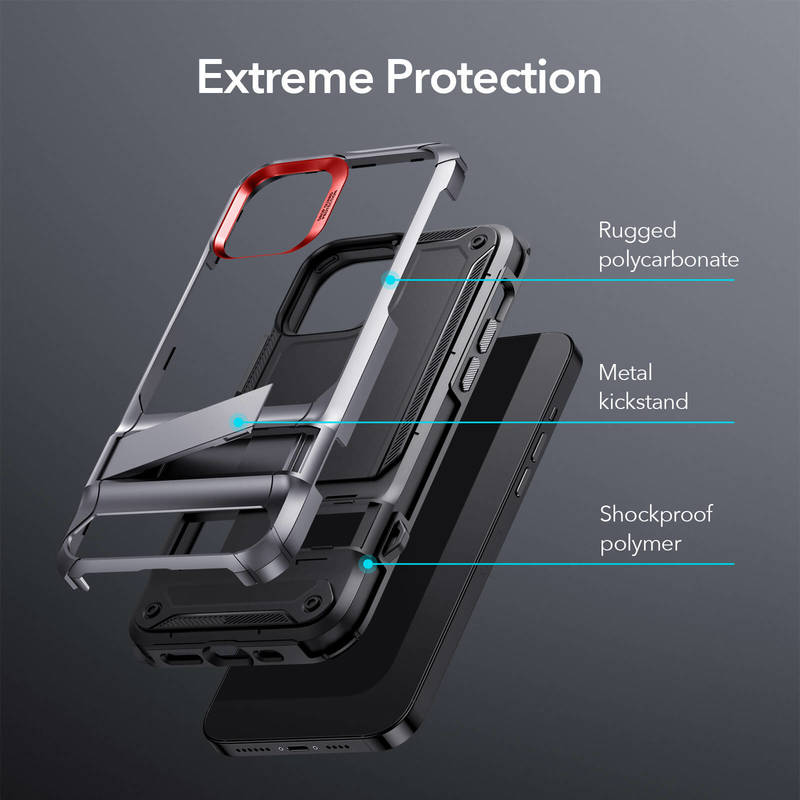 iPhone 1212 Pro Machina Tough Protective Case with Stand 2