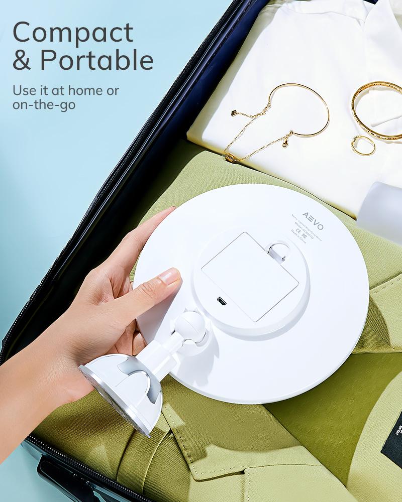 AEVO Lighted Magnifying Mirror 4