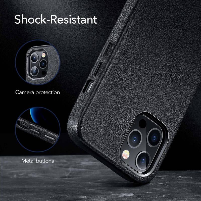iPhone 12 Pro Max Metro Premium Leather Case 6 1