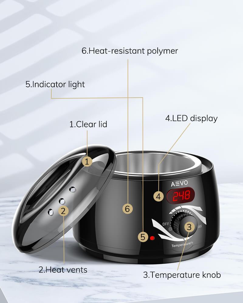 AEVO Home Waxing Kit 9