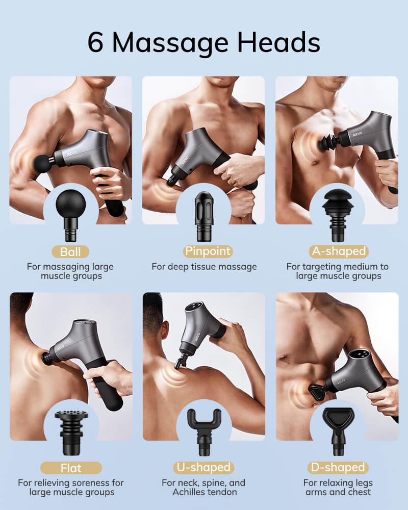 AEVO Muscle Recovery Massage Gun 1