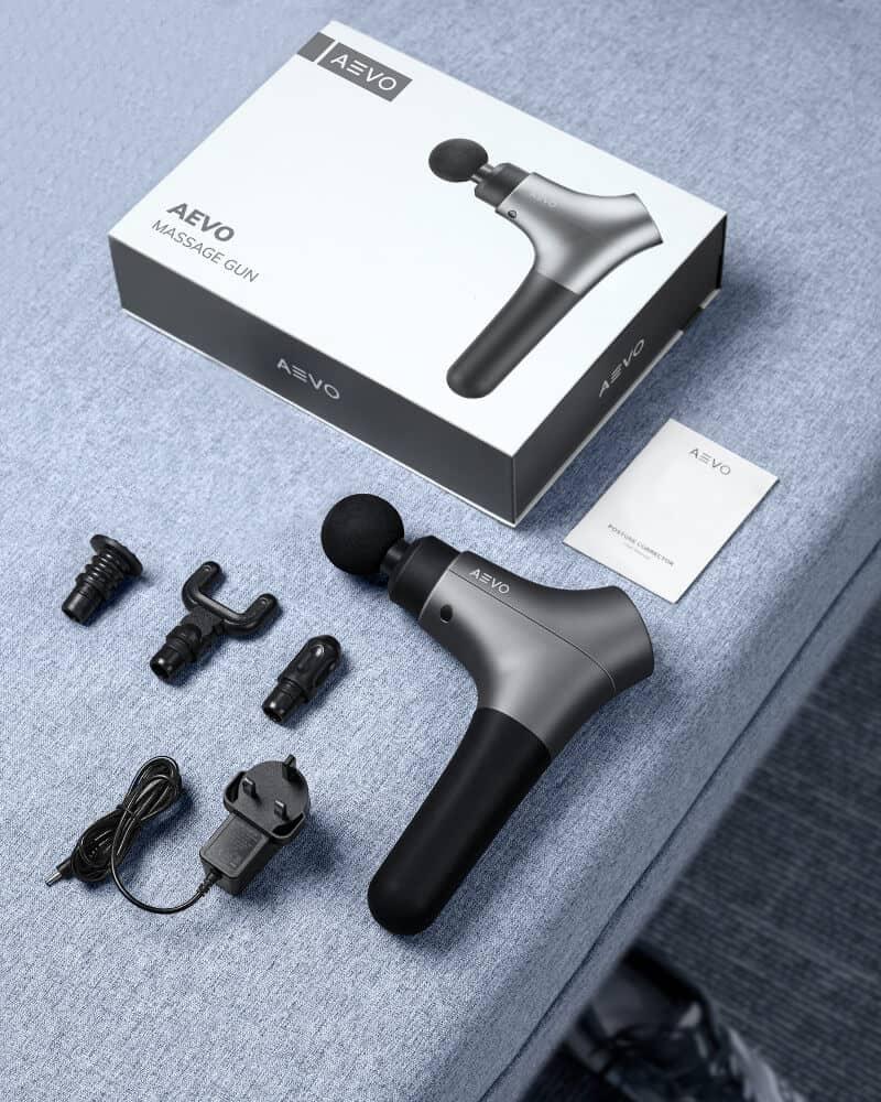 AEVO Muscle Recovery Massage Gun 4 1