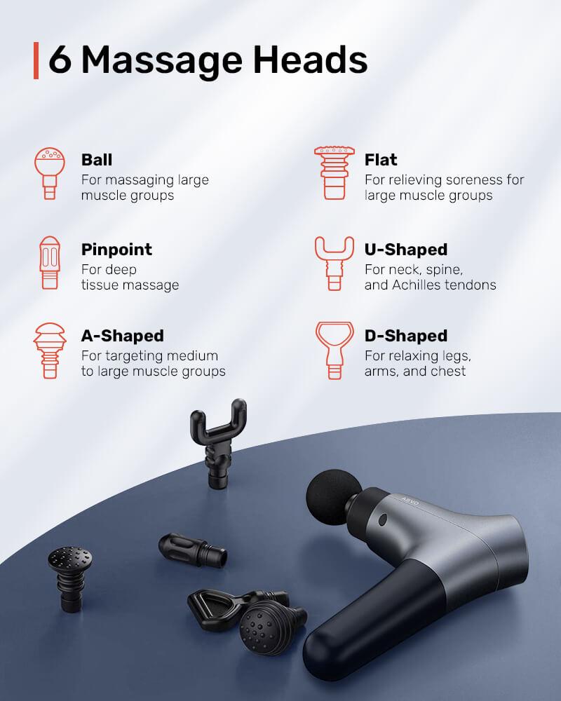 AEVO Muscle Recovery Massage Gun 5 1