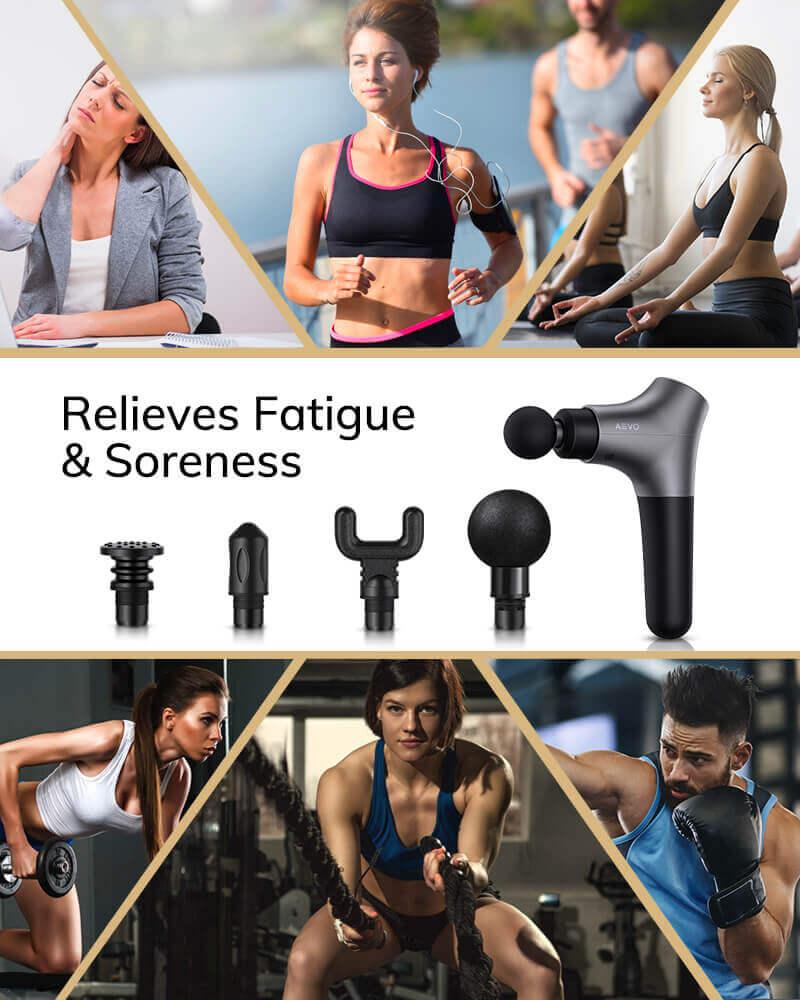 AEVO Muscle Recovery Massage Gun 6 2