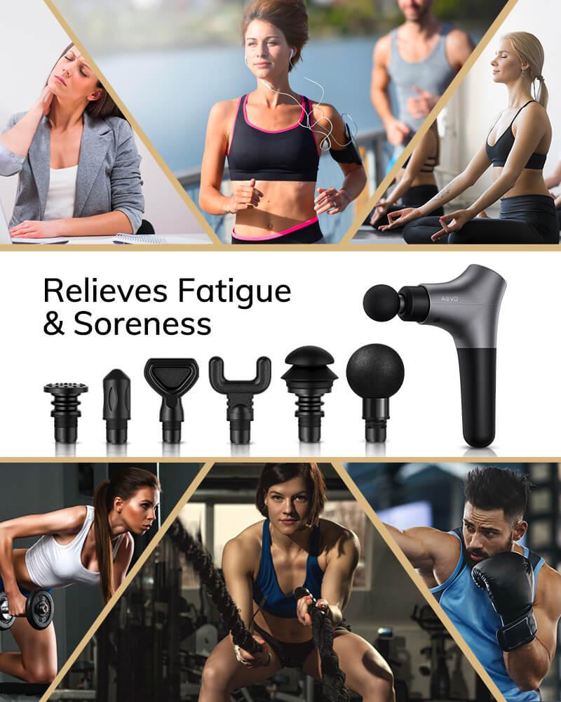 AEVO Muscle Recovery Massage Gun 6