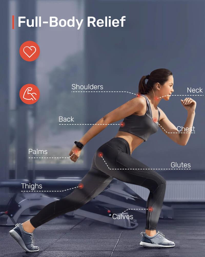 AEVO Muscle Recovery Massage Gun 7 1