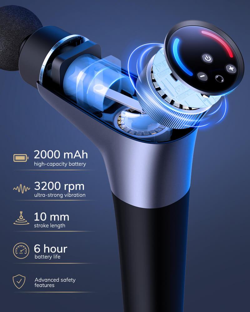 AEVO Muscle Recovery Massage Gun 9