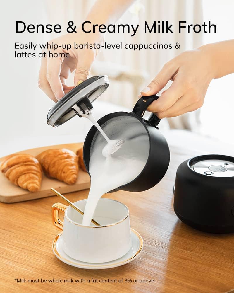 AEVO Detachable Milk Steamer Frother 2