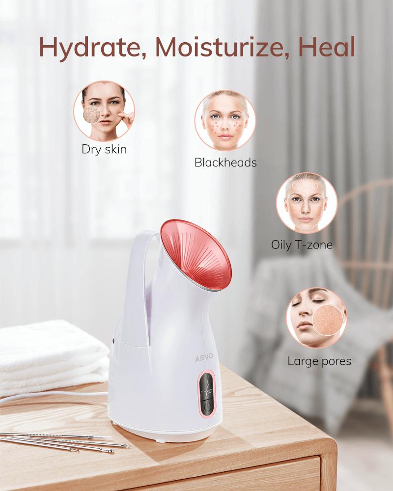 AEVO Home Spa Facial Steamer 10