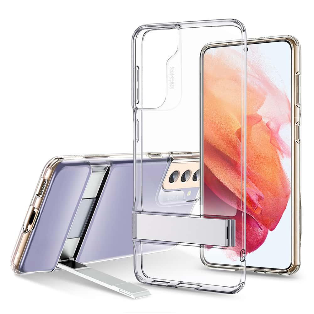 Galaxy S21 Metal Kickstand Phone Case