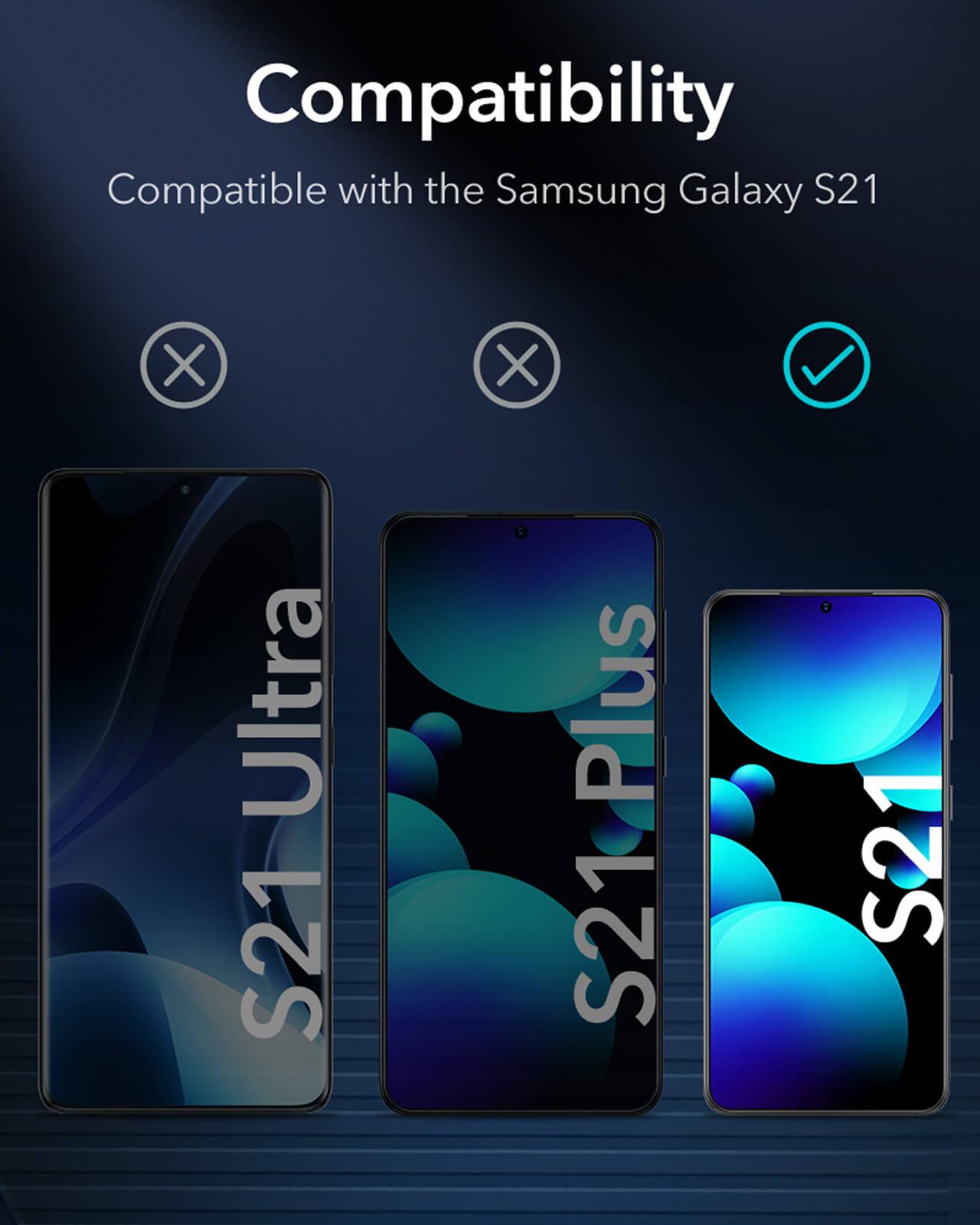 Galaxy S21 Liquid Skin Full Coverage Screen Protector 5