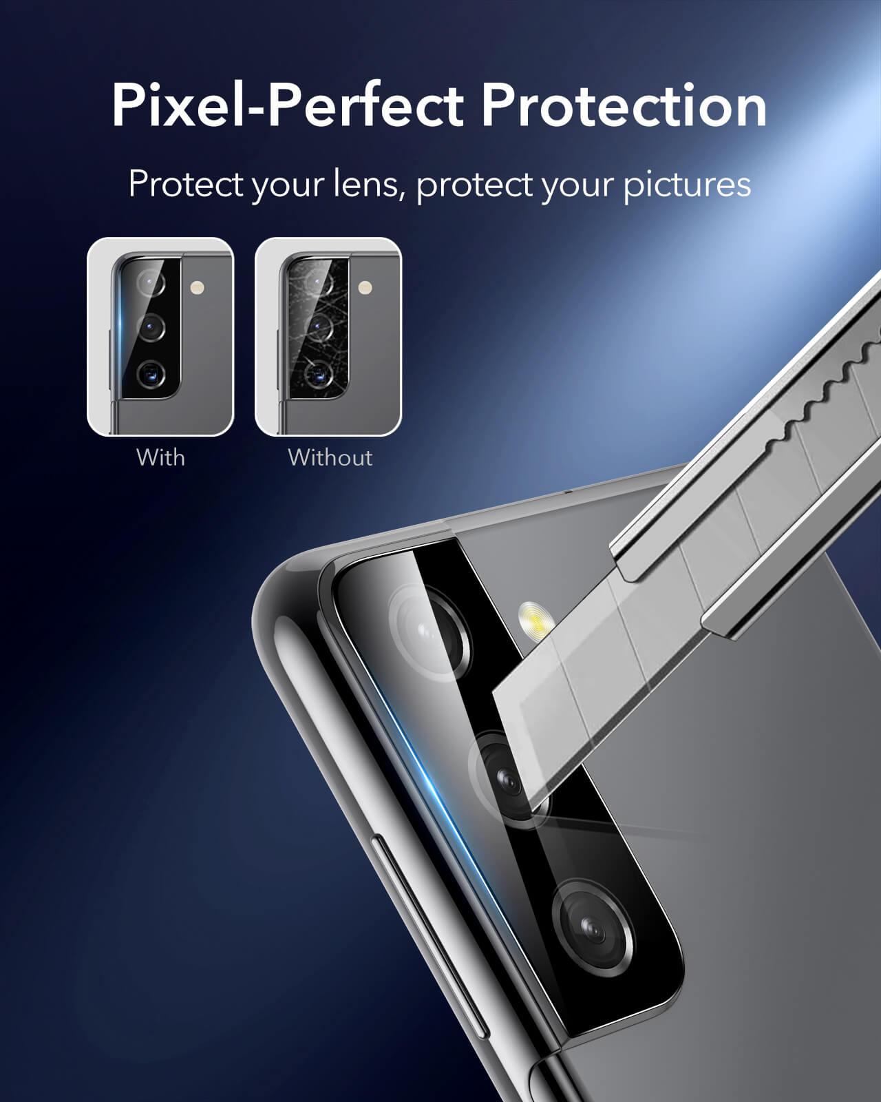 Galaxy S21 Phone Camera Lens Protector 4
