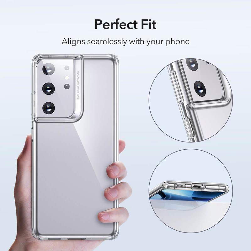 Galaxy S21 Ultra Project Zero Clear View Slim Case 4 1