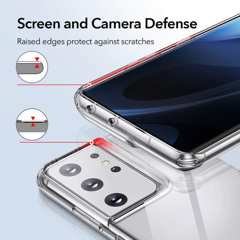 Galaxy S21 Ultra Project Zero Clear View Slim Case 5