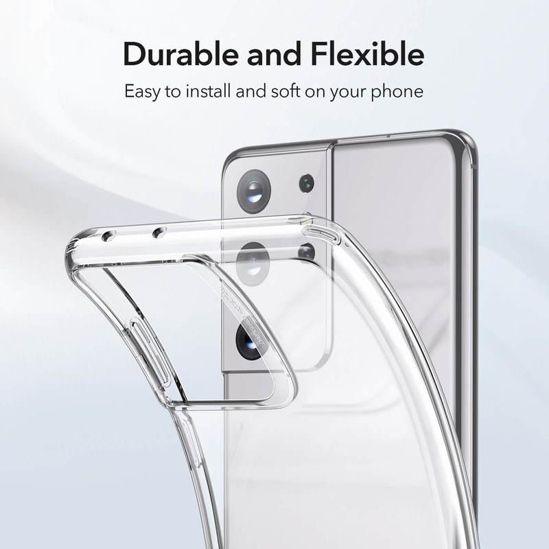 Galaxy S21 Ultra Project Zero Clear View Slim Case 6