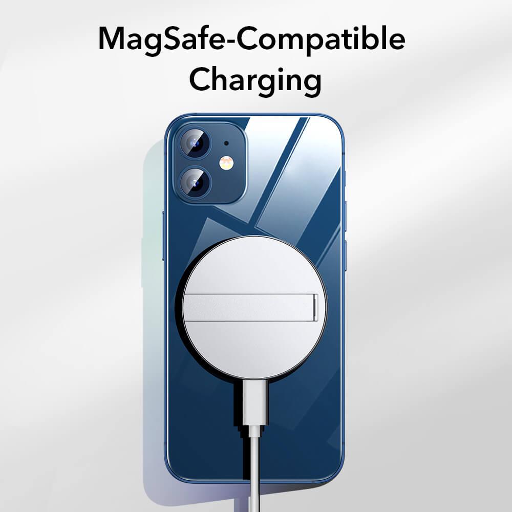 HaloLock™ Kickstand MagSafe Compatible Wireless Charger 11