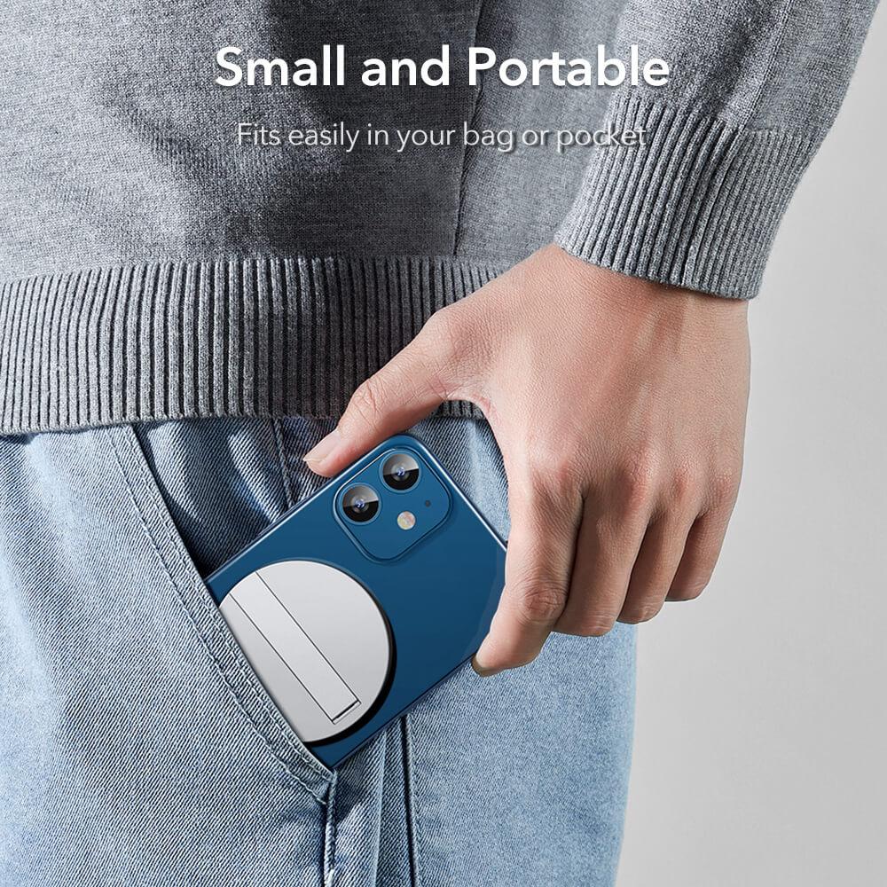 HaloLock™ Kickstand MagSafe Compatible Wireless Charger 14