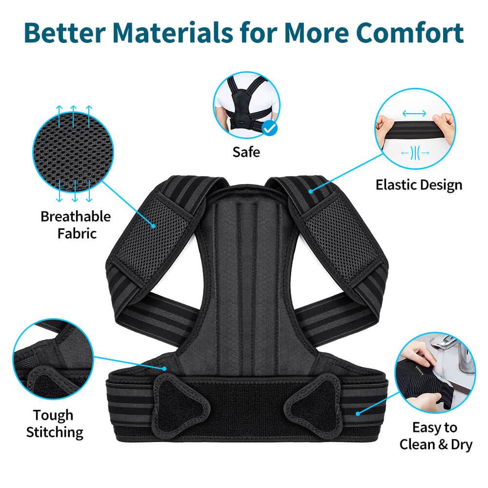 VOKKA Full Support Adjustable Posture Corrector for Men and Women 1 11