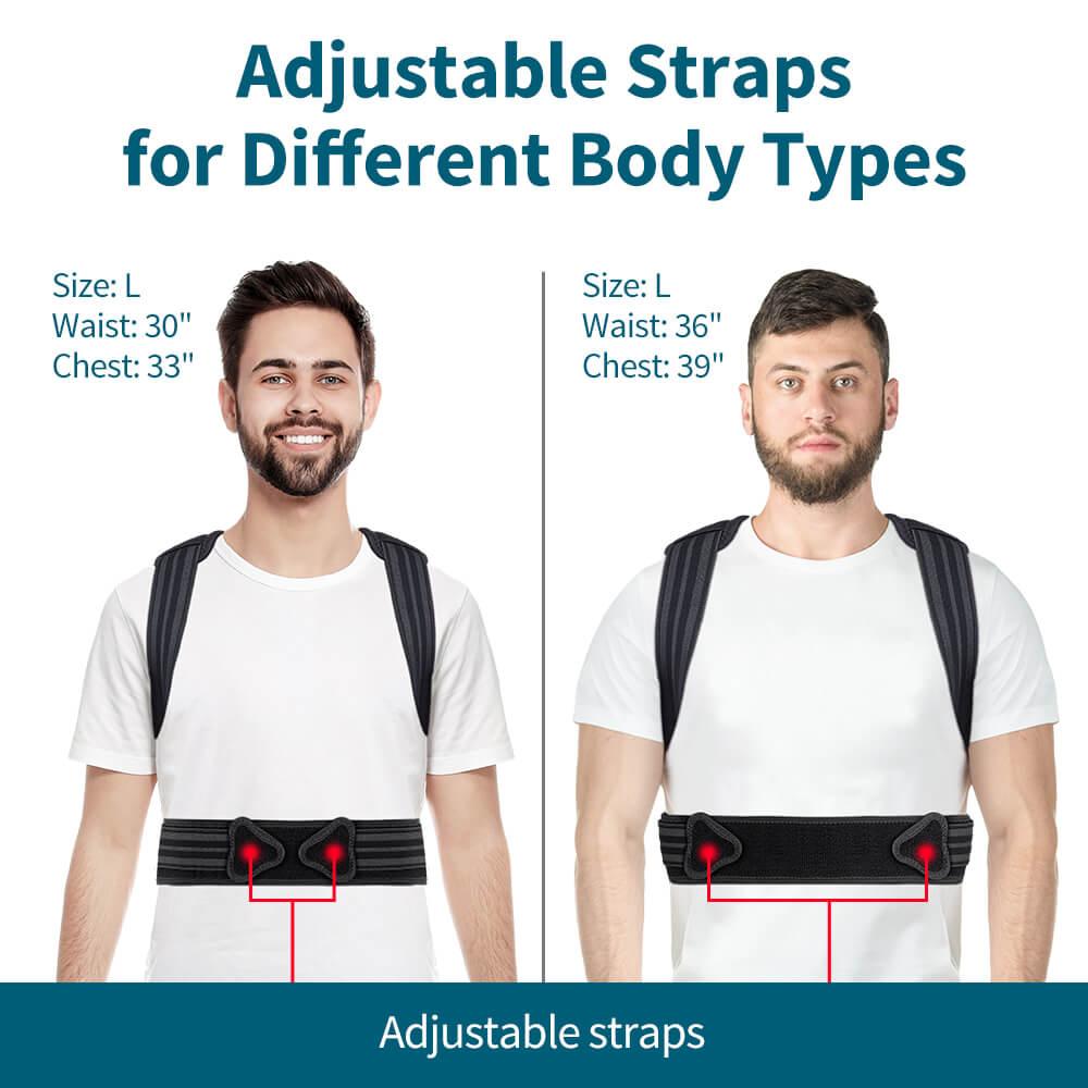 VOKKA Full Support Adjustable Posture Corrector for Men and Women 1 5