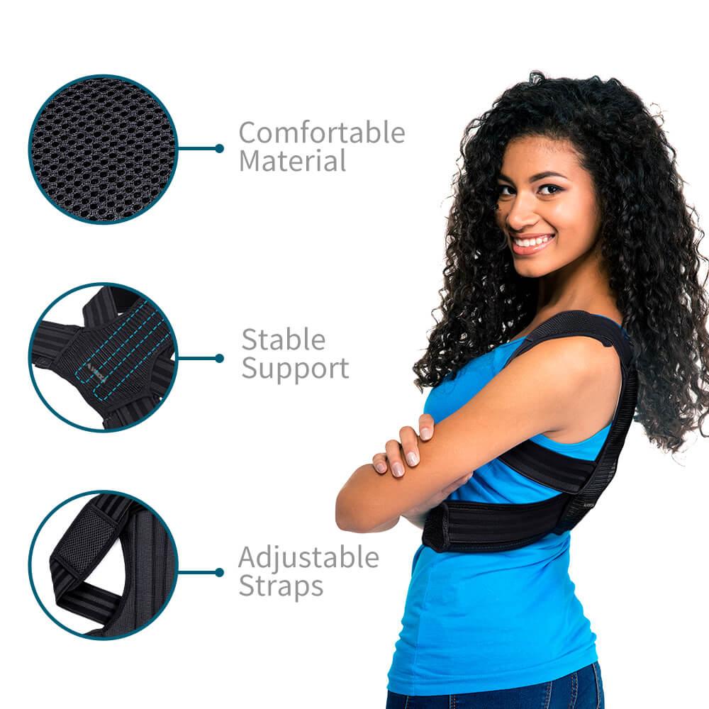 VOKKA Full Support Adjustable Posture Corrector for Men and Women 1 8