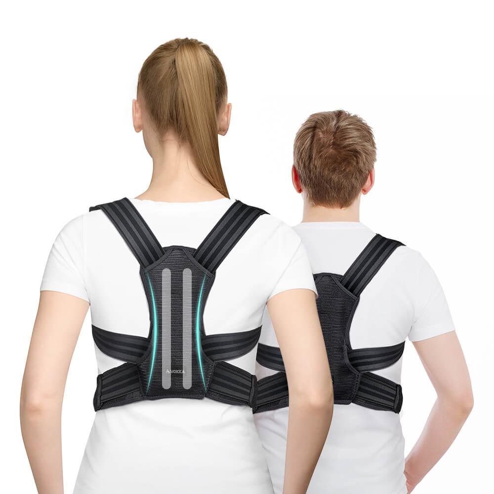 VOKKA Full Support Adjustable Posture Corrector for Men and Women 1