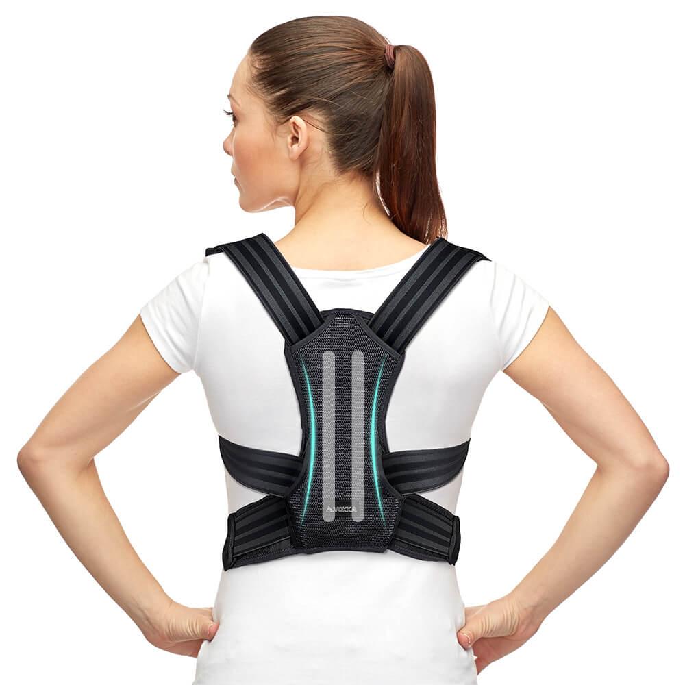 VOKKA Full Support Adjustable Posture Corrector for Men and Women 2