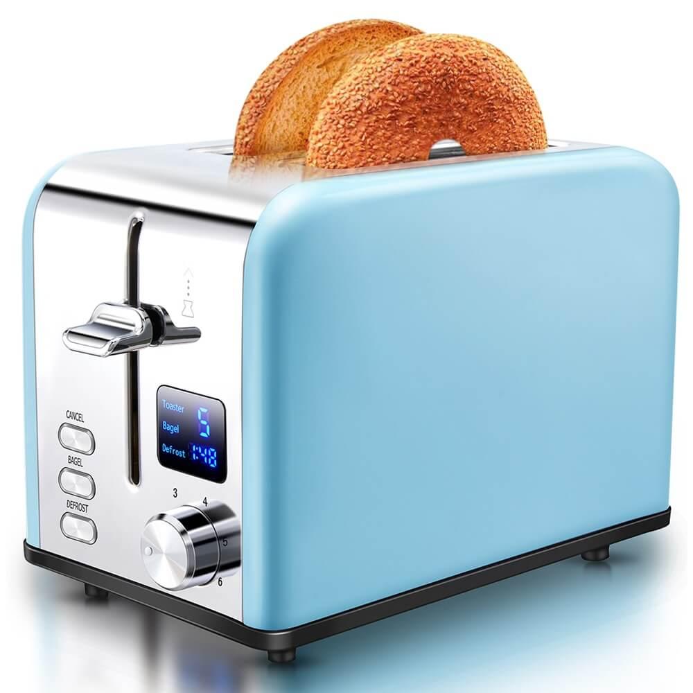 AEVO 2 Slice Retro Toaster