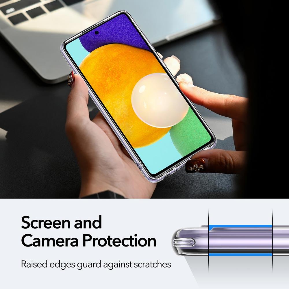 Galaxy A52 Project Zero Slim Clear Case 5