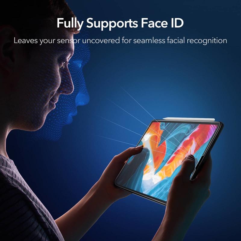 iPad Pro 12.9 (2021/2020/2018) Paper-Feel Screen Protector