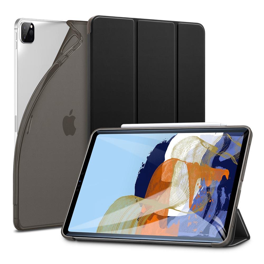 iPad Pro 12.9 2021 Rebound Slim Smart Case Black