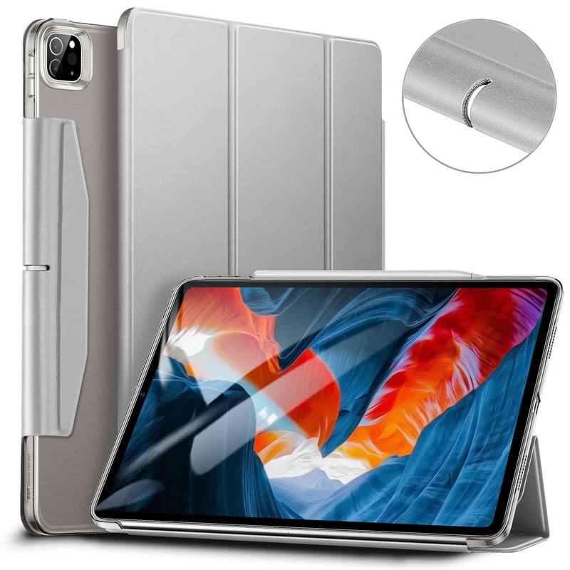 iPad Pro 12.9 2021 Ascend Trifold Hard Case Gray