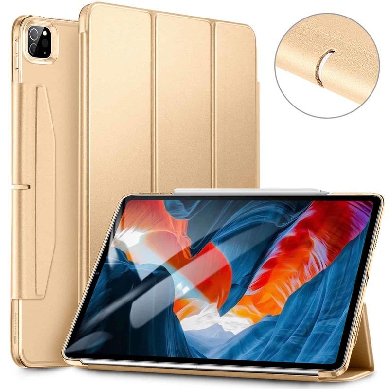 iPad Pro 12.9 2021 Ascend Trifold Hard Case Khaki