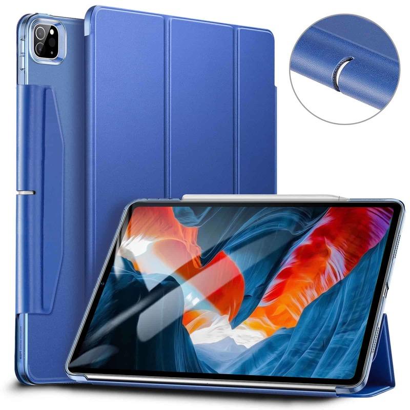 iPad Pro 12.9 2021 Ascend Trifold Hard Case Navy Blue
