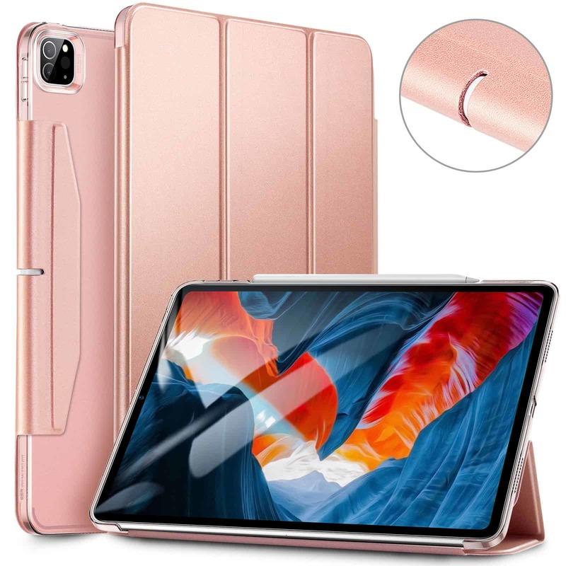 iPad Pro 12.9 2021 Ascend Trifold Hard Case Rose Gold
