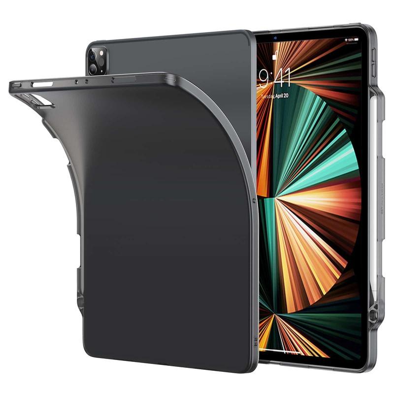 iPad Pro 12.9 2021 Project Zero Soft Pencil Case Black