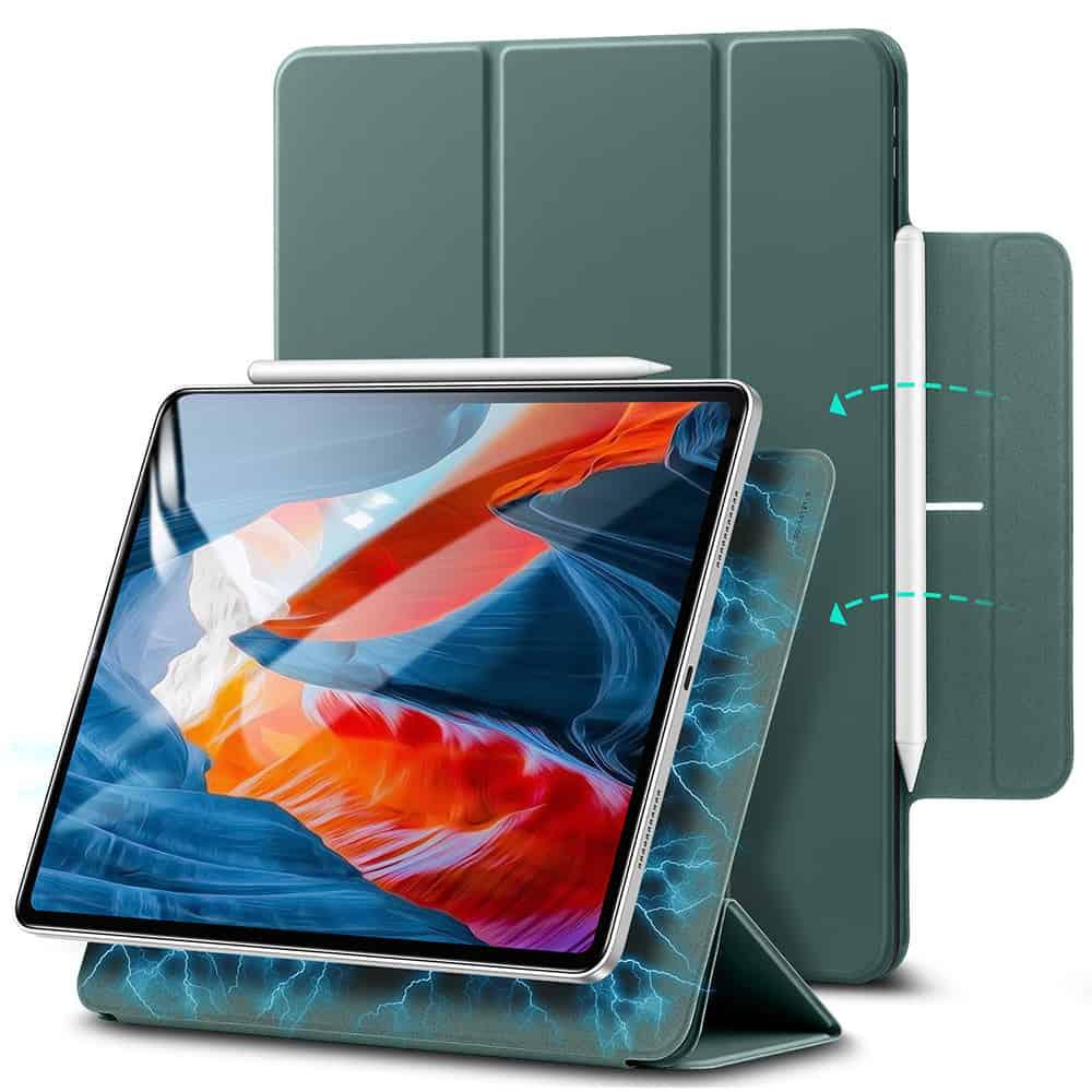 iPad Pro 12.9 2021 Rebound Magnetic Slim Case Cactus