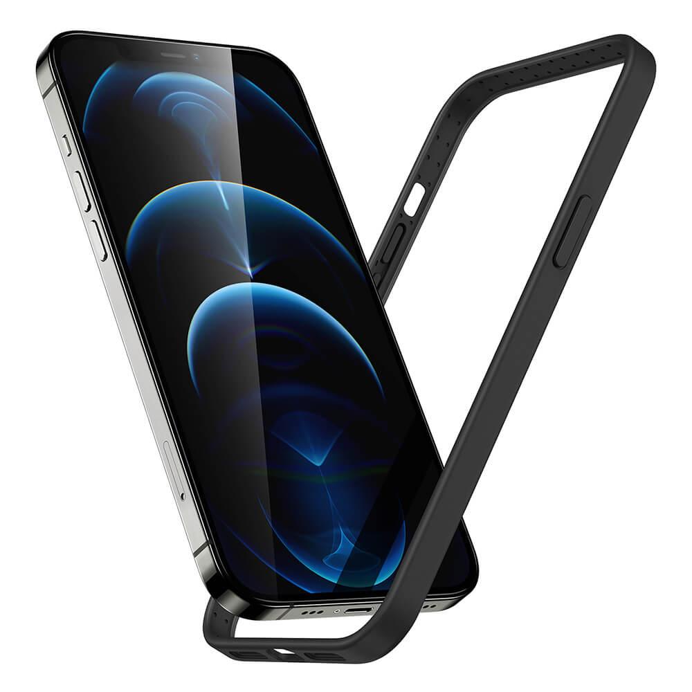 iPhone 1212 Pro Cloud Silicone Bumper Case 2