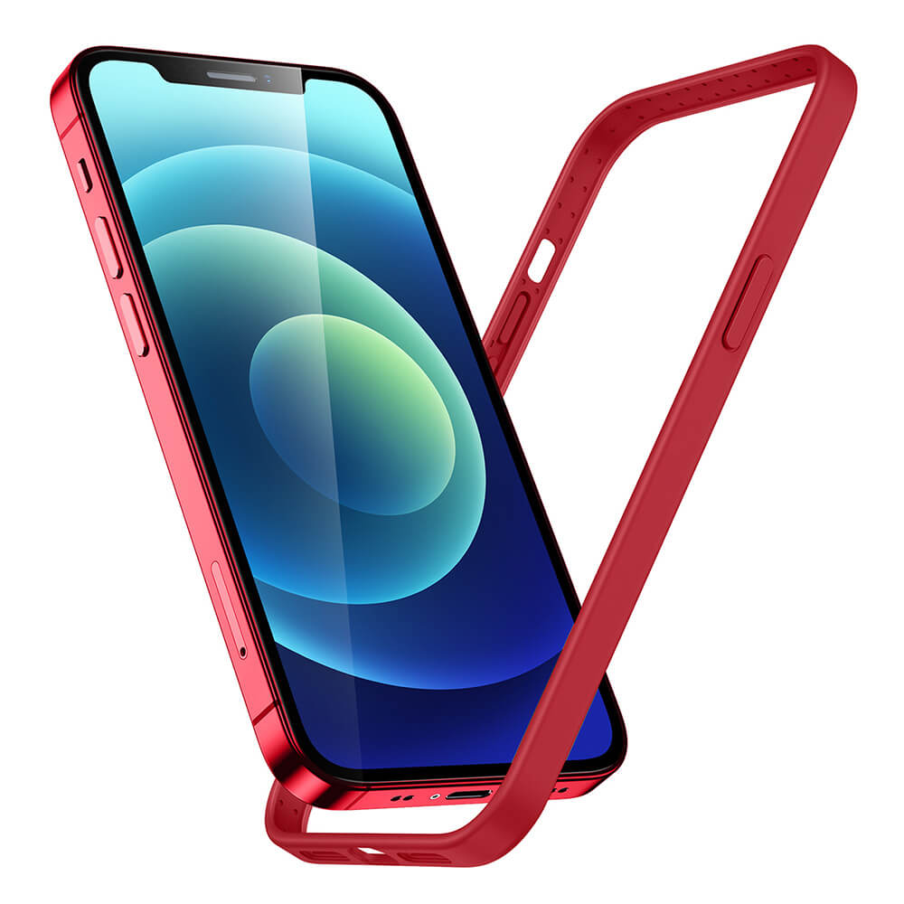 iPhone 1212 Pro Cloud Silicone Bumper Case
