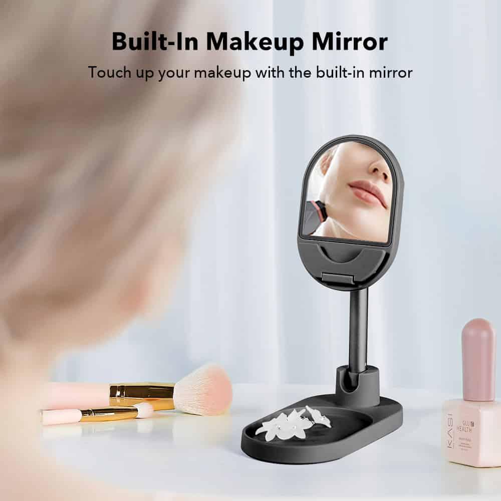 Makeup Mirror Phone Stand 7