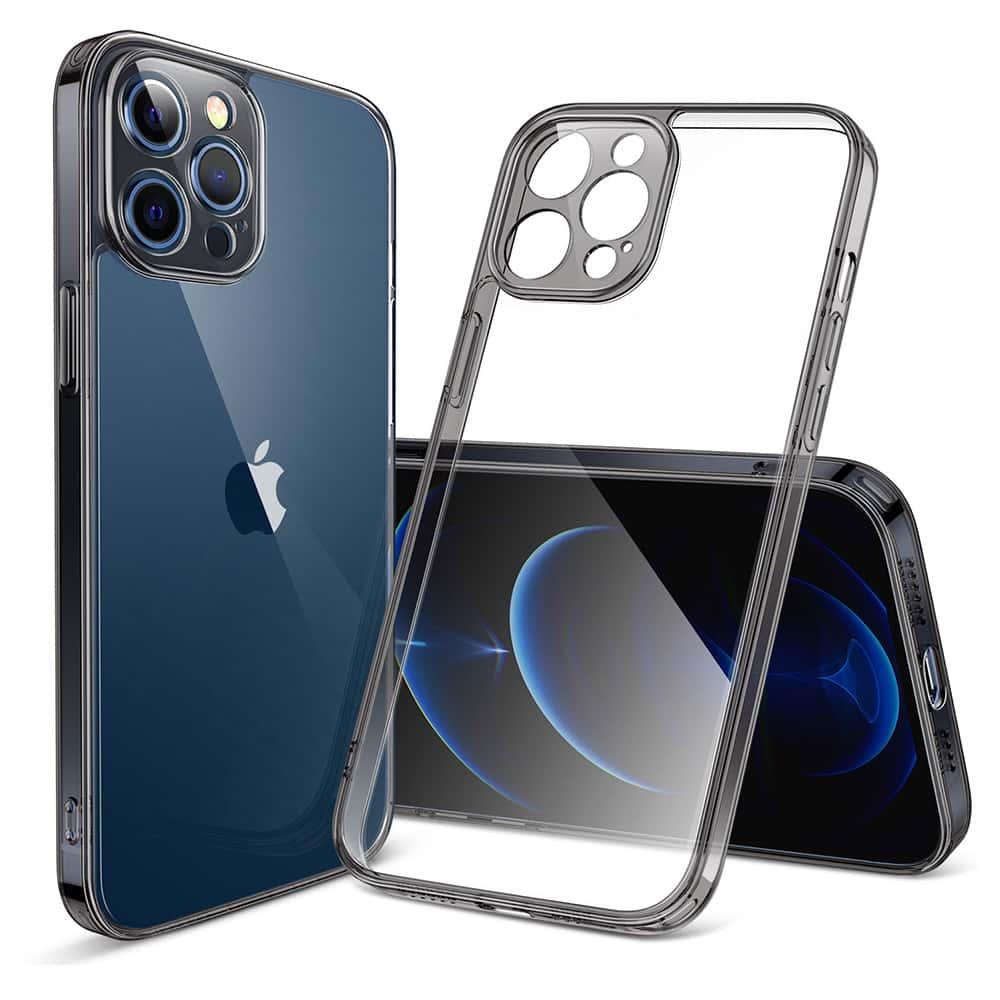 iPhone 12 Pro Max Classic Hybrid Case With Camera Guard Pro Black