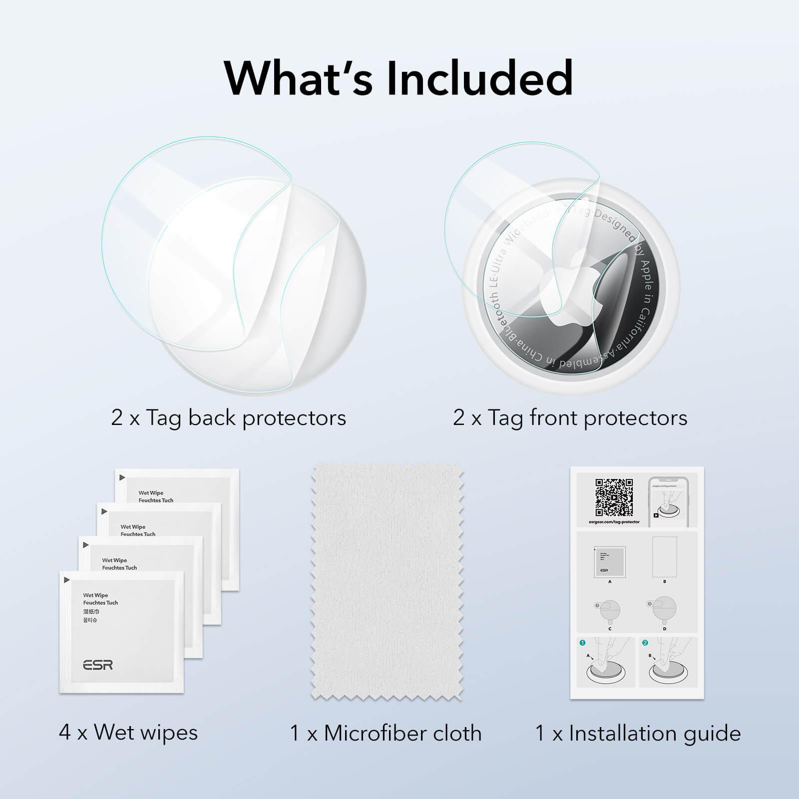 AirTag 2024 Soft Liquid Skin Tag Protector kf
