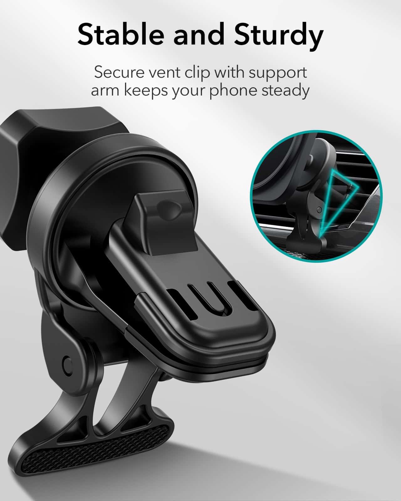 HaloLock Magnetic Car Phone Mount for iPhone 12 Series kf 4