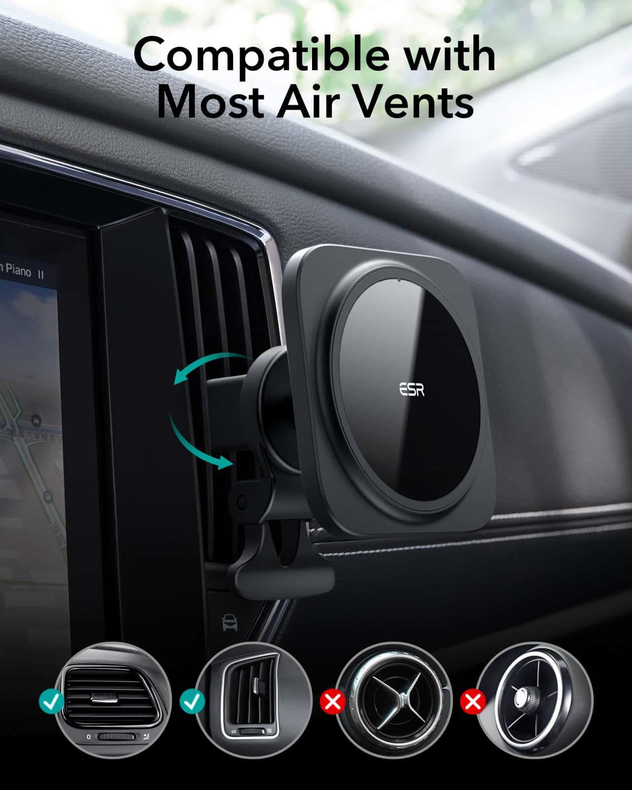HaloLock Magnetic Car Phone Mount for iPhone 12 Series kf 7